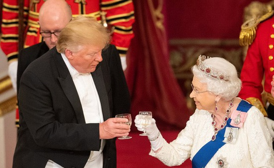 Điều thú vị về chuyến thăm Anh của Tổng thống Mỹ