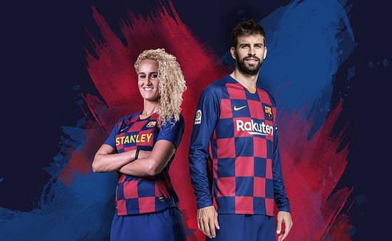 Áo đấu mới của Barcelona mang âm hưởng… Croatia