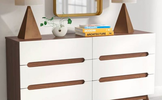 Mẫu tủ lưu trữ nhỏ gọn dành cho phòng ngủ