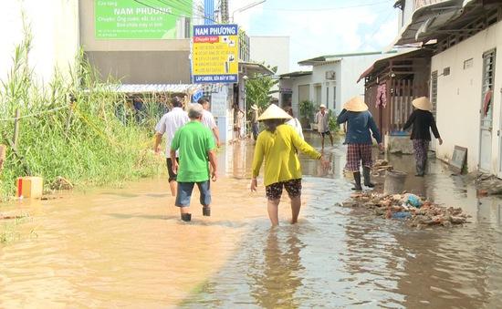 Cần Thơ: Chưa có giải pháp xử lý ngập nghẹt khu dân cư