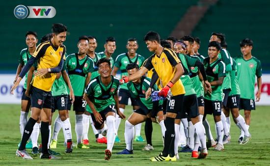 ẢNH: U23 Myanmar thoải mái tâm lý trước trận gặp U23 Việt Nam