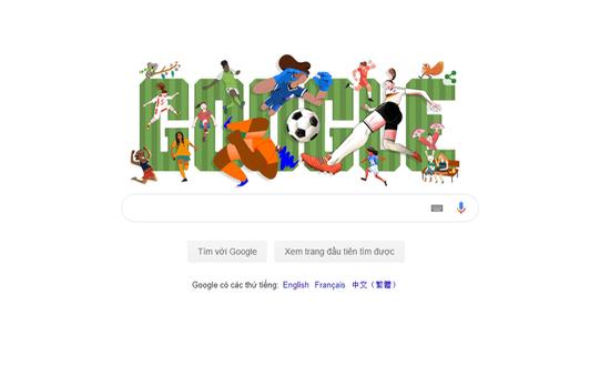 Google cập nhật ảnh đại diện nhân dịp giải vô địch bóng đá nữ thế giới 2019