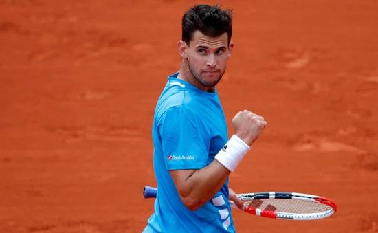Thắng nghẹt thở Djokovic, Dominic Thiem thẳng tiến vào chung kết Pháp mở rộng 2019