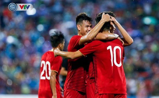 ẢNH: Thi đấu lấn lướt, U23 Việt Nam thắng dễ U23 Myanmar