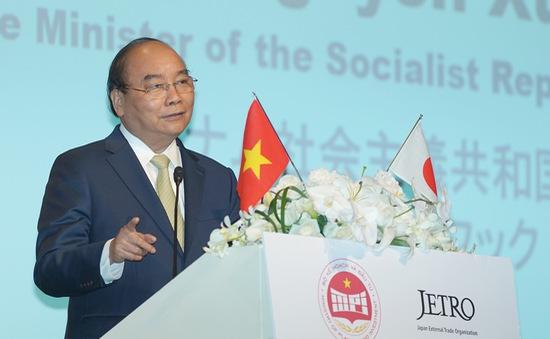Thủ tướng mời các nhà đầu tư Nhật Bản 'mở hàng' EVFTA