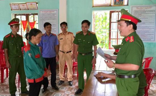 Khởi tố đối tượng đốt cỏ gây cháy rừng ở huyện Hương Sơn, Hà Tĩnh
