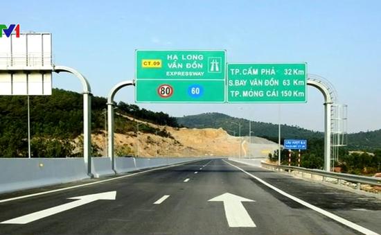Nâng tốc độ lưu thông trên cao tốc Hạ Long - Vân Đồn