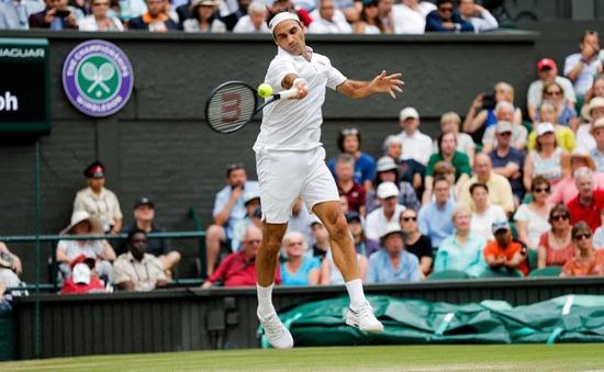 Tứ kết đơn nam Wimbledon 2019: Kei Nishikori 1-3 Roger Federer (6/4, 1/6, 4/6, 4/6)