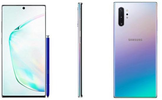 Rỏ rỉ hình ảnh Galaxy Note 10 phiên bản xanh ngọc trai