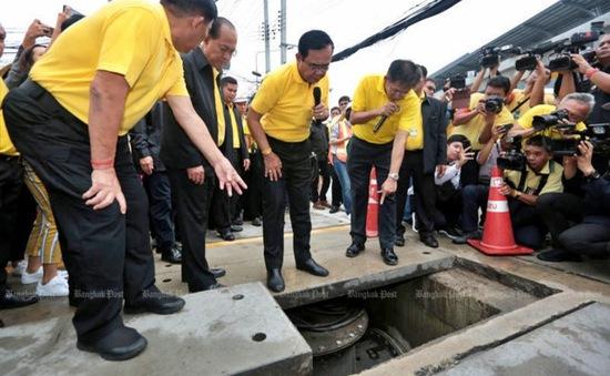 """Thái Lan xây dựng """"ngân hàng nước"""" để chống ngập lụt"""