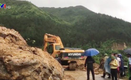 Lai Châu: Quốc lộ 4D tạm thời được thông tuyến