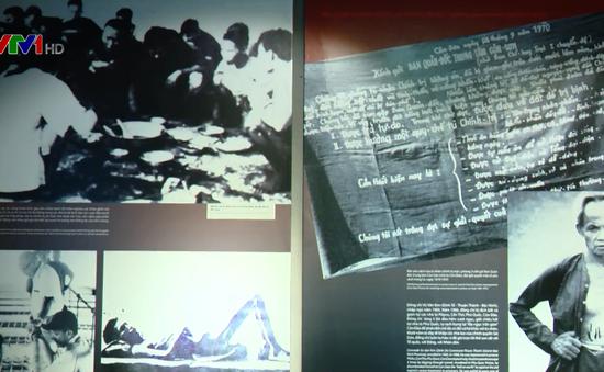 """Khai mạc triển lãm """"Chiến sĩ cách mạng bị địch bắt tù đày"""""""