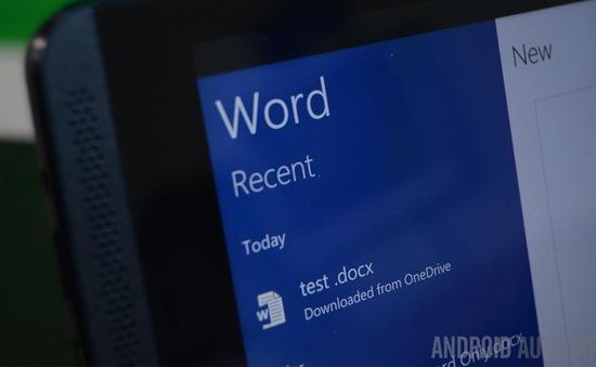 Microsoft Word đạt hơn 1 tỷ lượt cài đặt trên Android