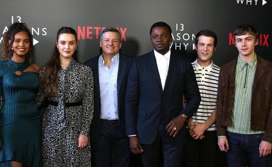 """Netflix xoá cảnh tự tử trong bộ phim đình đám """"13 reasons why"""""""