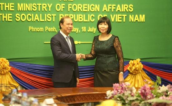 Tham khảo chính trị Việt Nam - Campuchia lần thứ 6
