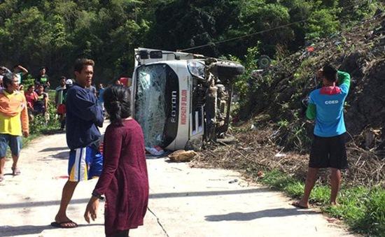 Xe tải rơi xuống vực tại Philippines, ít nhất 11 trẻ em thiệt mạng