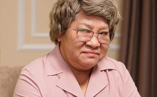 """""""Bà nội"""" khó tính NSƯT Minh Vượng đã có mặt tại VTV Awards 2019"""