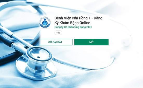 Bệnh viện Nhi Đồng 1 triển khai đăng ký khám chữa bệnh qua App