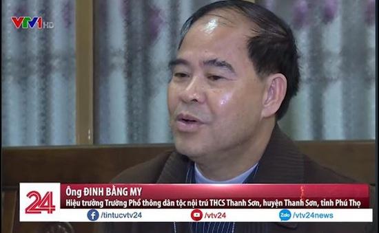 Phú Thọ: Trả hồ sơ vụ hiệu trưởng bị tố dâm ô hàng loạt nam sinh