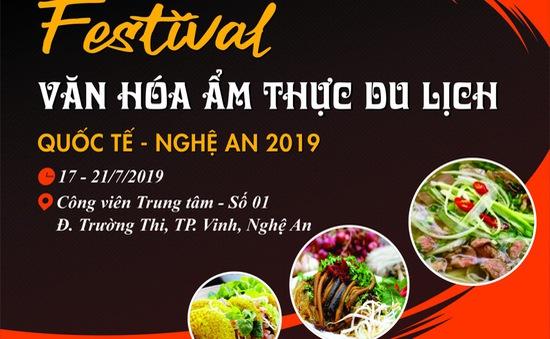 Festival văn hóa ẩm thực du lịch Quốc tế - Nghệ An 2019