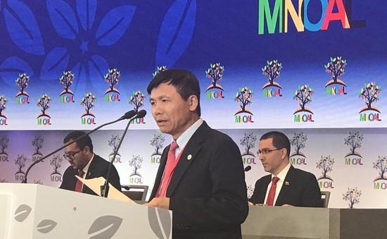 Việt Nam dự Hội nghị cấp Bộ trưởng Phong trào Không liên kết tại Venezuela