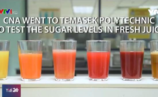 Uống nước ép trái cây tươi mỗi ngày có thực sự tốt cho sức khỏe?