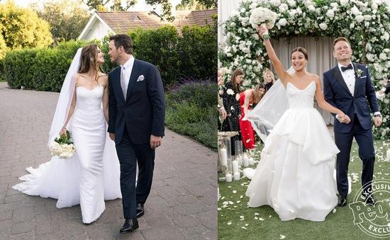 Trầm trồ với những mẫu váy cưới của các ngôi sao