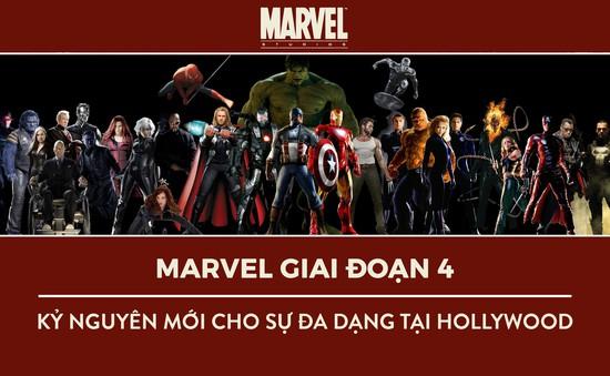 Marvel giai đoạn 4: Kỷ nguyên mới cho sự đa dạng tại Hollywood