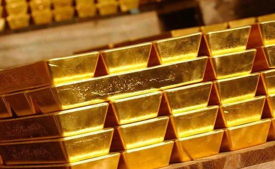 Vàng trong nước tiếp mạch giảm giá