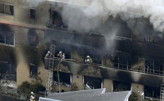 Vụ cháy xưởng phim ở Nhật Bản: Cảnh sát khám xét nhà nghi phạm