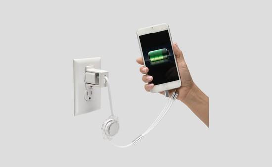 Cẩn thận sử dụng điện thoại khi đang sạc