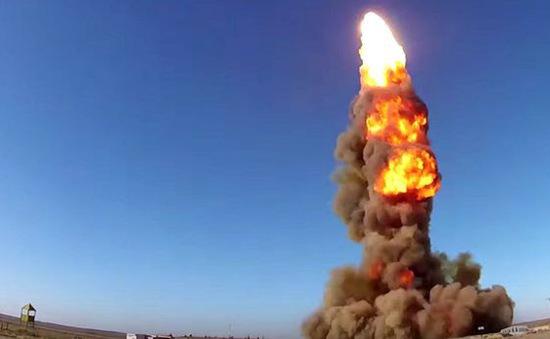 Nga thử nghiệm tên lửa chống đạn đạo mới