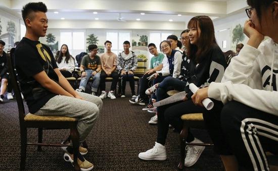 Sinh viên Trung Quốc học tiếng Việt để tìm cơ hội việc làm