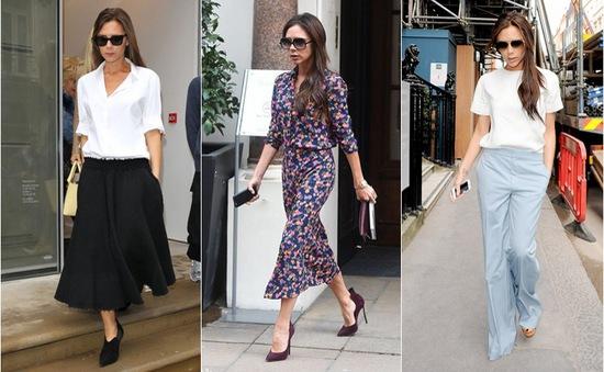 Gợi ý 5 set đồ theo phong cách Victoria Beckham