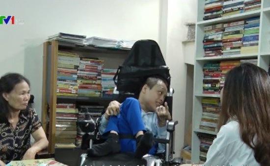 Người khuyết tật xây dựng tủ sách nhân đạo