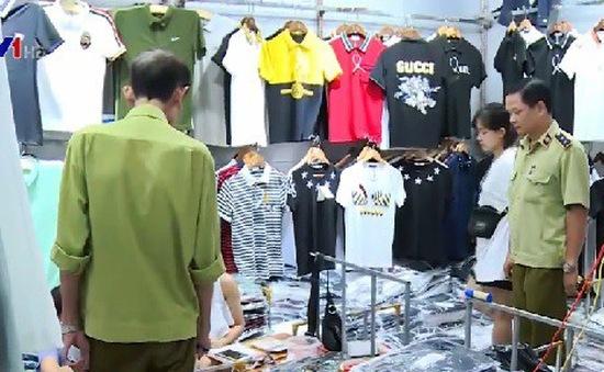 Thu giữ hàng chục nghìn sản phẩm giả các nhãn hiệu nổi tiếng tại Ninh Hiệp