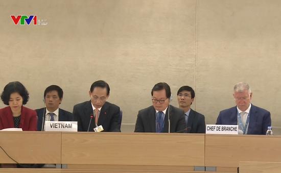 Hội đồng Nhân quyền thông qua báo cáo của Việt Nam về quyền con người