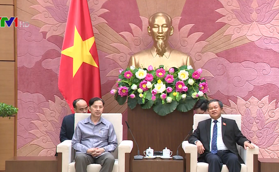 Tăng cường hợp tác lập pháp Việt Nam - Lào