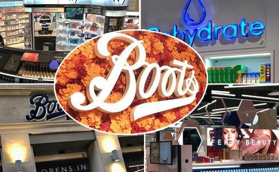 Chuỗi hóa mỹ phẩm Boots tung ra nhiều dịch vụ