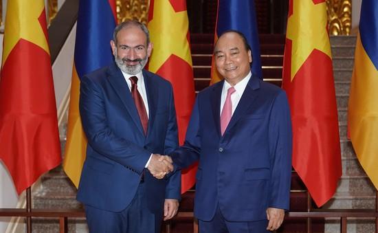 Việt Nam - Armenia tăng cường hợp tác nhiều mặt