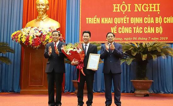 Chủ tịch UBND tỉnh Hà Tĩnh làm Bí thư Tỉnh ủy Hà Giang