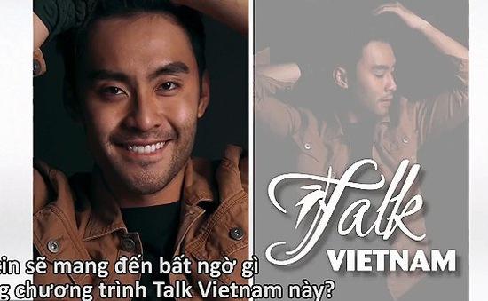 Cựu VJ MTV Dustin Phúc Nguyễn thừa nhận là người đồng tính tại chương trình Talk Vietnam