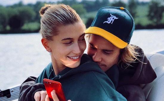 Justin Bieber biết ơn vì có Hailey Baldwin