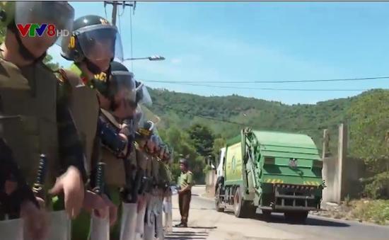 Đà Nẵng: Giải quyết căng thẳng tại bãi rác tại Khánh Sơn