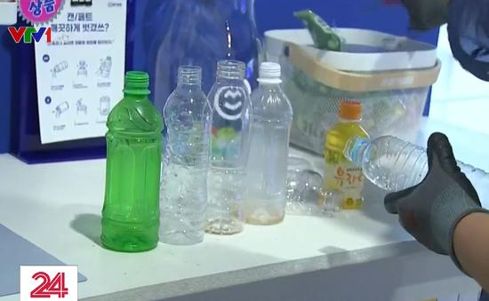 Hàn Quốc: Đổi chai lọ nhựa lấy điểm thưởng