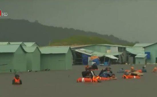 Phú Quốc gặp khó khăn do ngập nặng