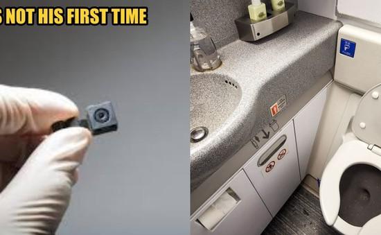 Lén đặt máy quay trong nhà vệ sinh trên máy bay, người đàn ông Malaysia bị bắt