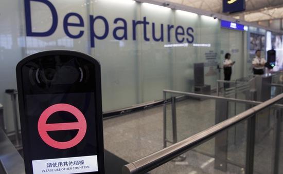 Sân bay quốc tế Hong Kong (Trung Quốc) lại đóng cửa