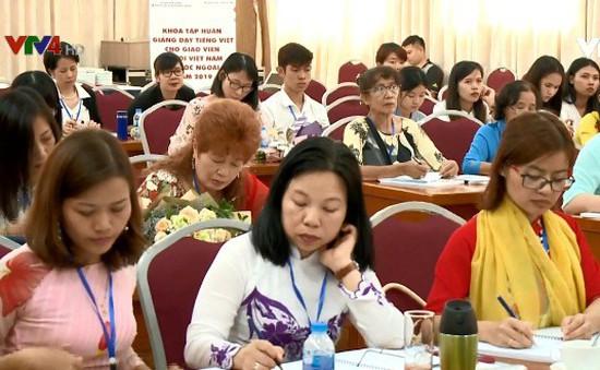 Khai mạc khóa tập huấn dạy tiếng Việt cho giáo viên người Việt Nam ở nước ngoài