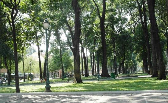 TP.HCM phấn đấu tăng diện tích công viên cây xanh ở ngoại thành